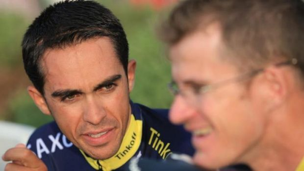 Alberto Contador will rely heavily on Michael Rogers in the Tour de France.