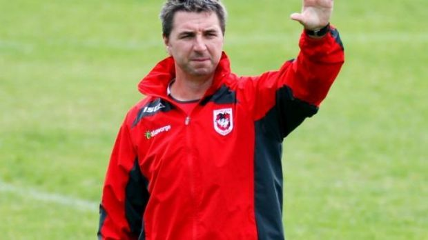 Dragons coach Steve Price's position is being reviewed by club management.