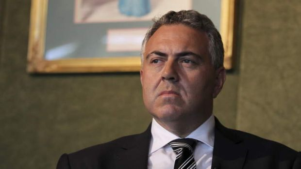 Treasurer Joe Hockey is under pressure to explain contradictory cuts and spending in the budget.