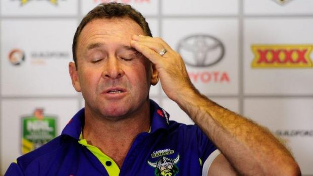 Ricky Stuart's honesty is refreshing.