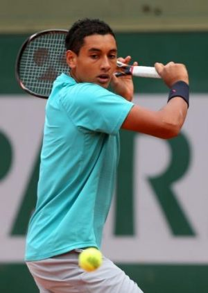 Canberra's Nick Kyrgios faces a tough first-up test at the French Open.