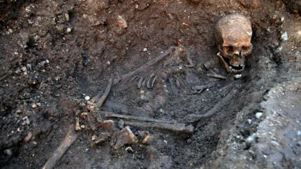 Now is the winter of his discontent: The remains of King Richard III were found in under a parking lot in 2012.