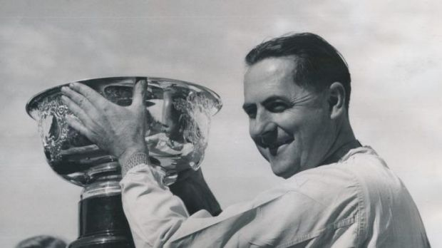 Humble champion: Sir Jack Brabham will be remembered as a great of the motor sport scene.