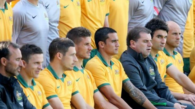 Big challenge ahead: The Socceroos will face a tough time in Brazil.