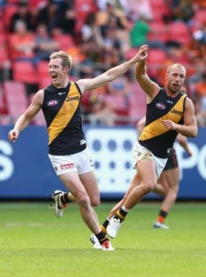 The Tigers were a much happier team against the Giants.