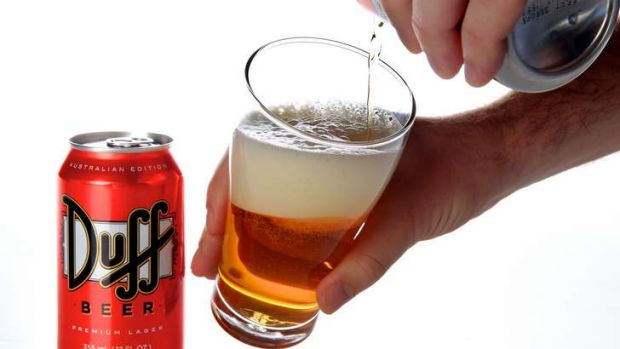 Duff Beer has been labelled dangerous by AMA.