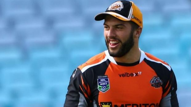 Wests Tigers fullback James Tedesco is in the Raiders' sights.