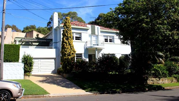 Moving out: Moses Obeid's Vaucluse home, which has been sold.