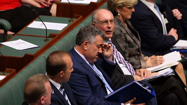 Treasurer Joe Hockey's first budget also came under attack from Labor.