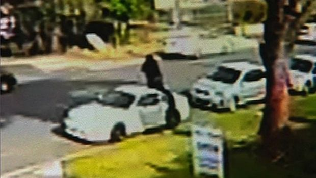 CCTV footage shows what are believed to be some of the last moments of Jamie Gao's life.