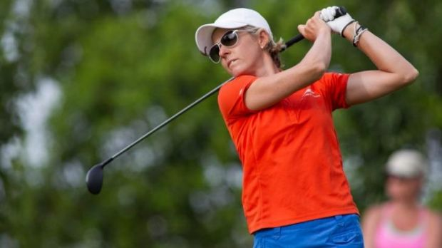 Nikki Campbell lost a play-off at the Deloitte Ladies Open in Holland.
