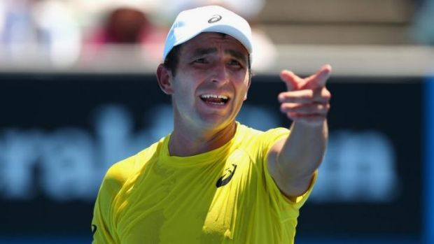 Marinko Matosevic will play his first-round match in the French Open on Tuesday.