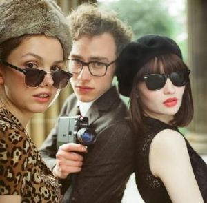 Hannah Murray, Olly Alexander and Emily Browning in <i>God Help The Girl</i>, the directorial debut from Belle and ...