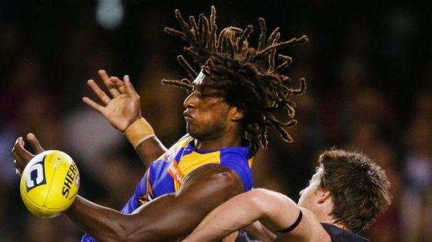 Teammate Will Schofield has revealed the full extent of Nic Naitanui's speed.