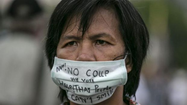 The junta has  delivered ominous warnings about growing anti-coup protests.