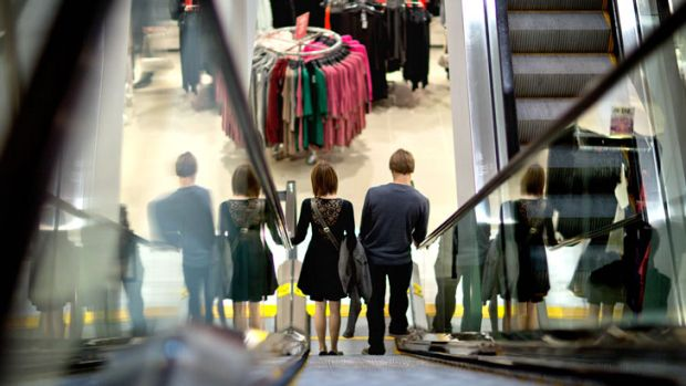 Going down: Consumer confidence has nosedived in the past five weeks.