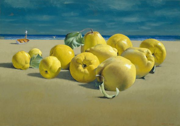 Quinces by the Sea, 1998-2003, Jeffrey Smart
