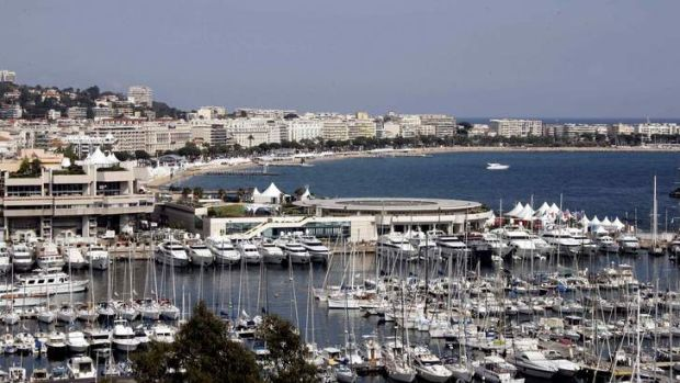 Cooler than Sydney: The French city of Cannes.