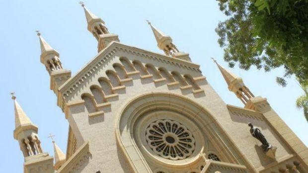 St Matthew's Catholic Cathedral near the Sudanese capital, Khartoum. Under sharia law in Sudan, Muslims who convert to ...