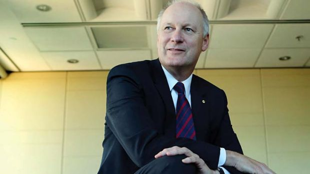 Branching out: Wesfarmers chief Richard Goyder.