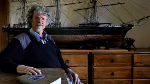 Shipshape style: Alan Gould borrows seafaring analogies to describe the substance of his work.