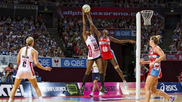 The NSW Swifts survived a close call against the Adelaide Thunderbirds.