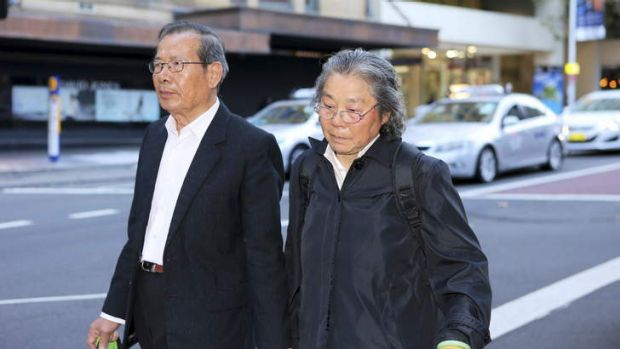 Grandparents of the slain Lin family, Yang Fei Lin and Feng Qing Zhu.