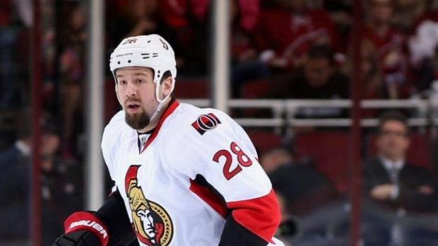 Matt Kassian of the Ottawa Senators.