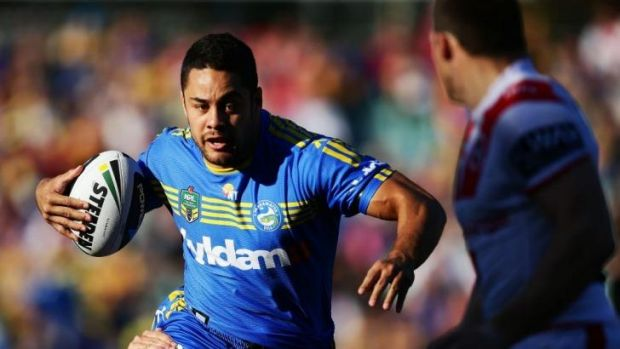Big boots to fill: Jarryd Hayne is set to be rested by the Eels.