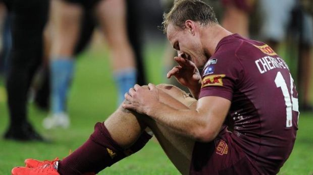 Daly Cherry-Evans could sit out Origin II with a knee injury.