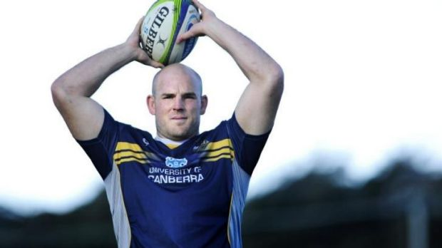 Brumbies player Stephen Moore.