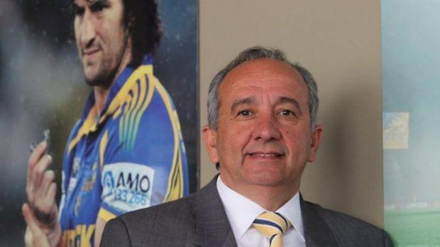 Former Parramatta chairman Roy Spagnolo.