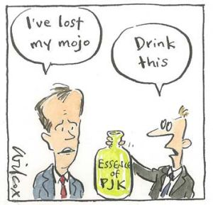 "Bill Shorten's speech cartoonBill's speech cartoon for 30 5 14 by Cathy WilcoxBill Shorten: ""I've lost my mojo.""Staff ..."