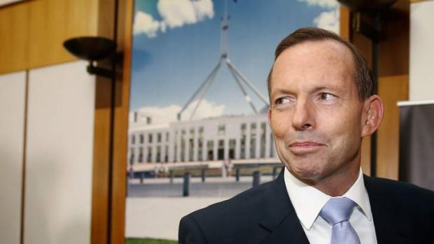 """Not my job to impugn the integrity of people"": Tony Abbott."