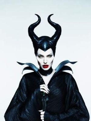 Creeping beauty: Angelina Jolie as Maleficent.