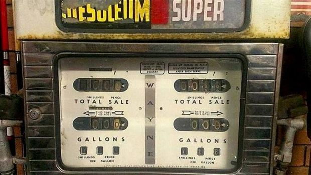 Do you remember these old petrol pumps as you stopped for fuel en route  to your holiday destination?