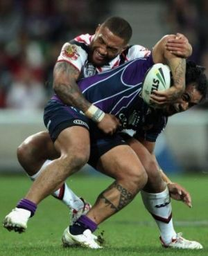 Big task: Mahe Fonua will play a key role for Storm against the Cowboys.