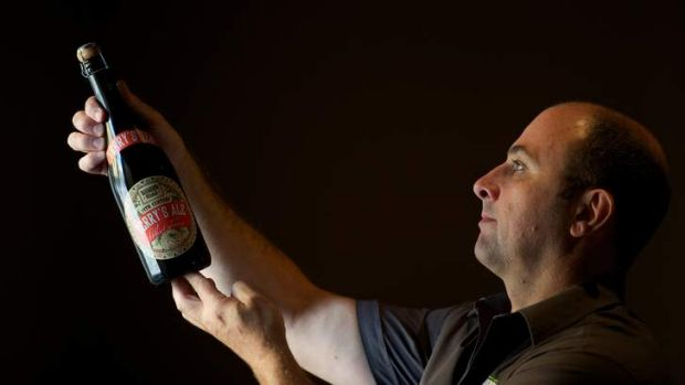Goldmine versus coalmine: Thunder Road Brewing Company founder Philip Withers.
