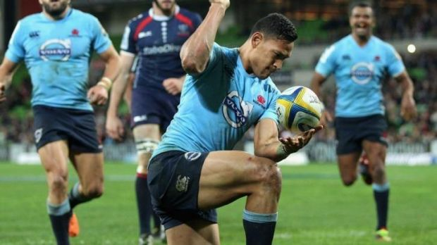 Israel Folau has provided the Waratahs with the cutting edge they craved.