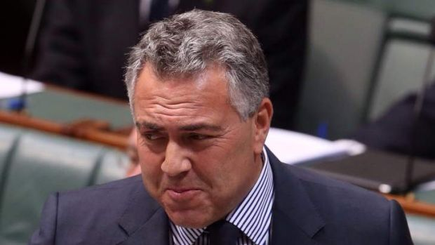 """Over the next 10 years we will reduce our expected debt by nearly $300 billion,"": Joe Hockey."