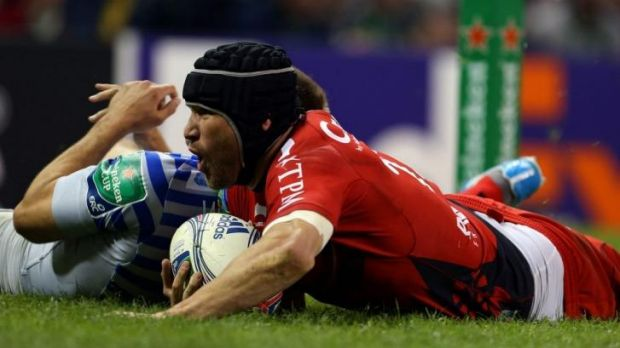 Different man: Matt Giteau said he has grown as a person since leaving Australia.