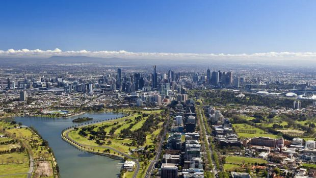 Already expensive, inner-city prices are soaring relative to outer prices as people begin to realise the jobs won't come ...