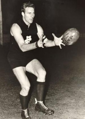 Wes Lofts, a Carlton tough nut who did not believe in leadership groups or consensus.