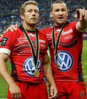 Willkinson has formed a potent partnership with Matt Giteau.