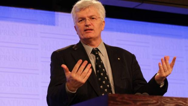 Professor Glyn Davis has warned that the Abbott government's changes to higher education was an unprecedented 'social ...