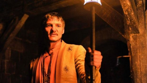 Burning desire ... Oberyn Martell takes up the chance to kill The Mountain.