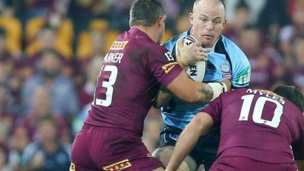 Newcastle forward Beau Scott had to fly out of Brisbane at 5.30am the morning after Origin I and was unable to front for ...