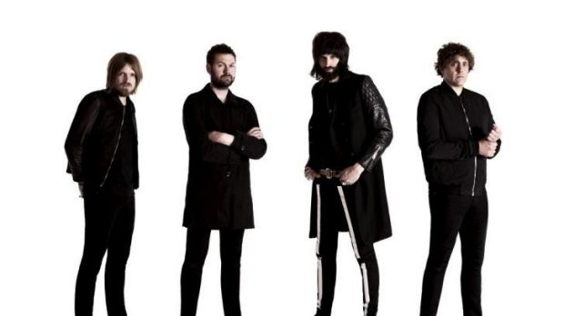 Kasabian: (From left) Chris Edwards, Tom Meighan, Sergio Pizzorno and Ian Matthews.