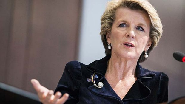 Minister for Foreign Affairs Julie Bishop: Commits to action against sexual violence in conflict zones.