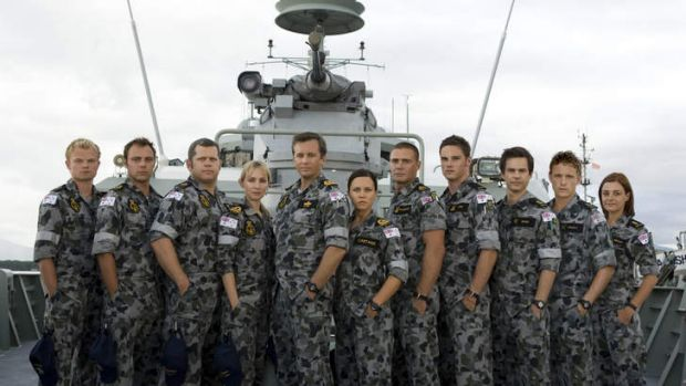 Made for TV ... The cast of the Nine Network's <i>Sea Patrol</i>. We trust the government has set aside enough funds for ...